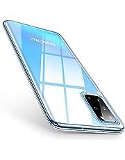 mobile store Slim Fit Samsung Galaxy S20 Plus Uyumlu Kılıf, Şeffaf Silikon Ultra İnce Arka Kapak - CS092089