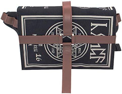 Majome Libro de hechizos m/ágico g/ótico Messenger Crossbody Bag Gift Cosplay Ajustable para Estudiantes