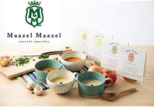 Maazel Maaelの食べるスープスムージー全7種が味わえるお試しセット 34種類の純国産野菜と伝統発酵食材の米こうじが入った食べるスープスムージー