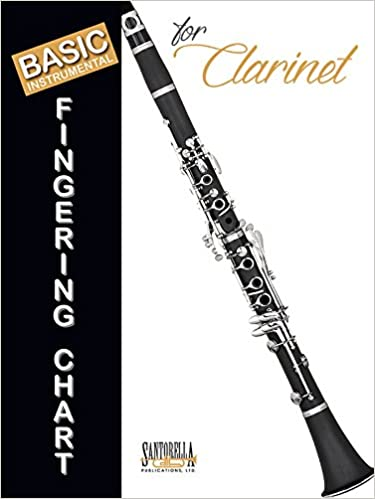 AmazonCom Basic Fingering Chart For Clarinet