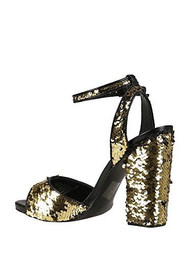 Gold Sandals Steve Women's Madden Sequins RITZYGOLD qBWq1AgS