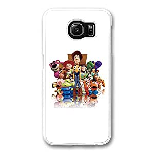 Samsung S6 Case, Galaxy S6 Case - Highly Protective White Hard Case for Samsung Galaxy S6 Toy Story New Release Back Case for Samsung Galaxy S6