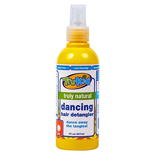 TruKid Dancing Detangler - Natural Detangling Spray, No More Knots or Dry Hair 7 oz