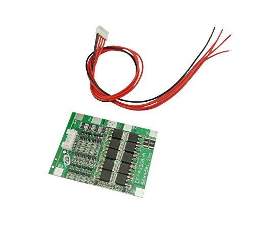 Aihasd 4S 30A 12V Lithium Iron Phosphate LiFePO/LFP Battery BMS Packs PCB Power Protection Board