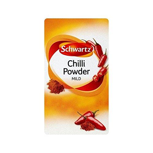 Schwartz Mild Chilli Refill 38g - Pack of 2 by Schwartz