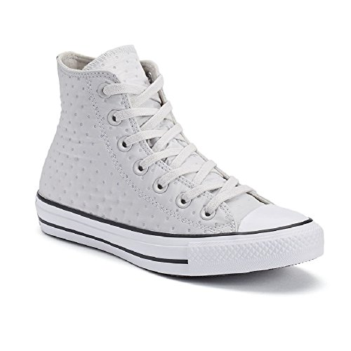 Converse Womens Chuck Taylor All Star Neoprene Hi Top Fashion Sneaker Shoe, Mouse/Black/White, (Polka Dot Converse Shoes)
