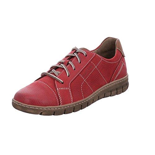Josef De Mujer Steffi Zapatos 41 Combi Seibel Cordones Para Rojo red ZwZgAq4