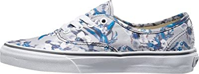 Vans Authentic Sneaker,Pewter Blurred Floral/True White,US 8.5 M