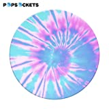 PopSockets: Collapsible Grip & Stand for Phones and Tablets - Tie Dye Blue