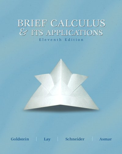 Brief Calculus and Its Applications (11th Edition)