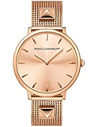 Women's Quartz Watch with Stainless Steel Strap, Rose Gold, 16 (Model: 2200003)