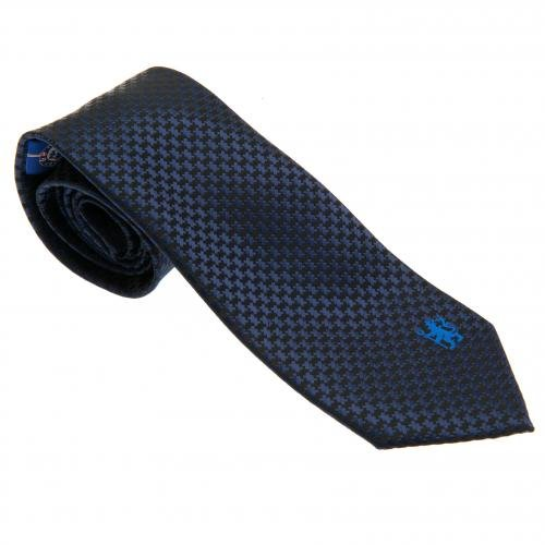 Chelsea FC Authentic EPL Players Tie Navy by Chelsea