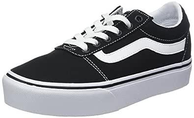 Vans Womens VA3TLC Low-top Black Size: 2