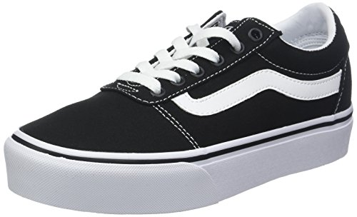Basses Platform Femme Sneakers Canvas Ward Vans q05wFIF