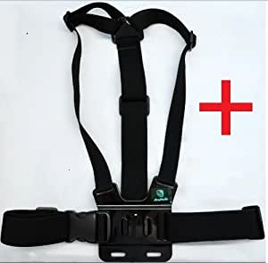ProPoDo Adjustable Chest Mount Harness Strap for HD GoPro HERO 1 2 3 Cameras