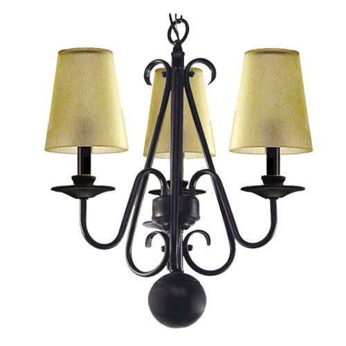 Marquis Lighting 9523-212-OEB Chandeliers with Streaked Amber Shades, Old English Bronze Review