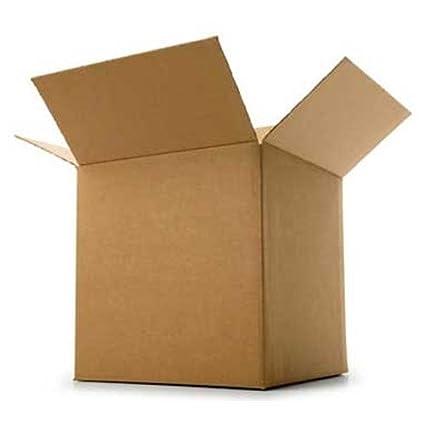 REALPACK® 10 x cajas de una sola pared tamaño: 15 x 15 x 15