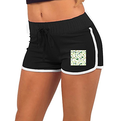 Price comparison product image Beaucc Women's New Vegetables Pattern Activewear Lounge Shorts
