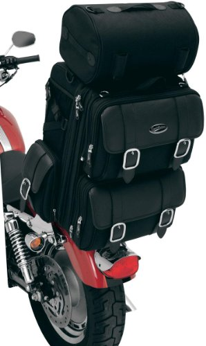 Saddlemen 3515-0086 Deluxe Sissy Bar Bag With Studs