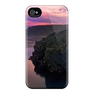 Cynthaskey XGQoalt769XufOy Case Cover Iphone 4/4s Protective Case Rocky Sunset