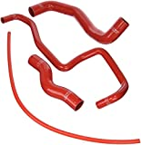 HPS 57-1048-RED Red Silicone Radiator Hose Kit Coolant