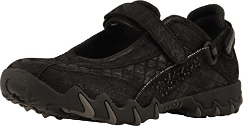 Allrounder by Mephisto Women's NIRO Diamonds Black Velvet/Hydro Soft 40.5 M EU