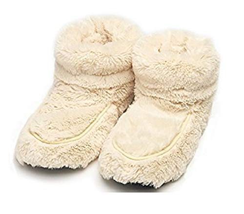Microwavable Slippers - Intelex Cozy Body Boots, Cream