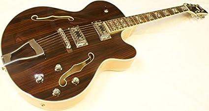 Diamantes Jazz/Archtop/Rockabilly Guitarra Palo de rosa Incl ...