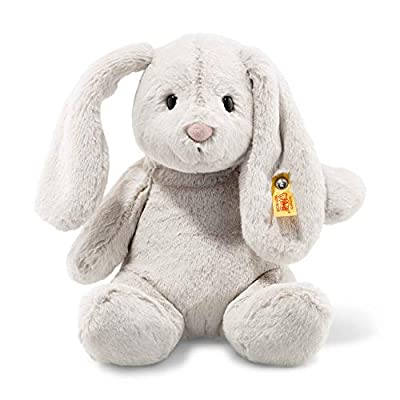 "Steiff Stuffed 12"" Bunny Rabbit - Vintage Soft and Cuddly Plush Animal Toy - 12"" Authentic Steiff from Steiff"