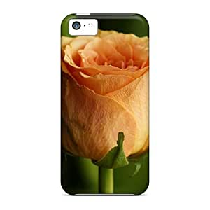 CaroleSignorile Premium Protective Hard Cases For Iphone 5c- Nice Design - Mother S Day Beautiful Flower Orange Rose