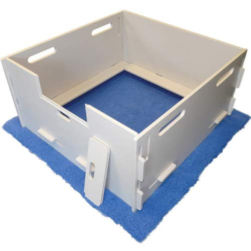 Puppy Box Whelping (Plaza MagnaBox Whelping Box, Large)