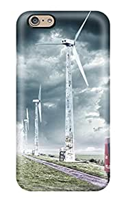 Viktoria Metzner's Shop New Style durable Protection Case Cover For Iphone 6(truck And Windmills) 2661434K64773606