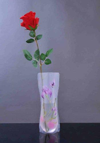 Hot 4 Style Home Decor Eco-friendly Reusable Foldable Plastic Flower Vase
