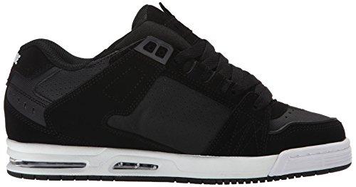 Der Säbel-Skate-Schuh der Kugel-Männer Schwarz / Carbon / Weiß
