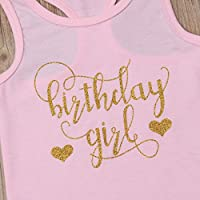 3 Style Baby Girl Gold Letter Print Sleeveless Vest Gold Sequins Shorts Pants Outfit Set Bowknot Headband