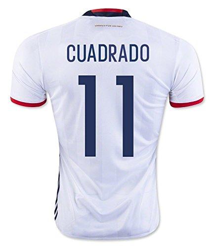 ズボンインポート統計Cuadrado #11 Colombia Home Soccer Jersey Copa America Centenario 2016 YOUTH/サッカーユニフォーム コロンビア ホーム用 クアドラード ジュニア向け 2016