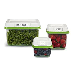 Rubbermaid FreshWorks Produce Saver 3-piece Set