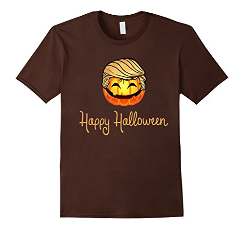 Halloween Pun Costumes Creative (Mens Happy Halloween Smiling Ghost Costume Shirt XL)