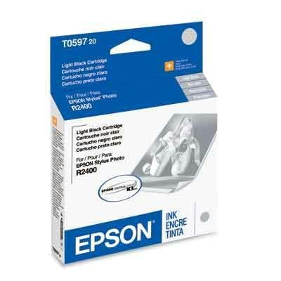 Epson T059720 Light Black OEM Genuine Inkjet/Ink Cartridge - ()