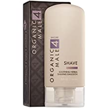 Organic Male OM4 Encore SHAVE: Soothing Herbal Shaving Emulsion - 5 oz
