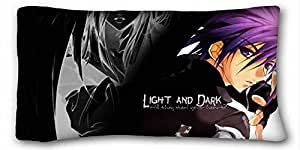 "Custom Characteristic ( Anime DNAngel ) DIY Pillow Cover Size 20""X36"" suitable for X-Long Twin-bed PC-Yellow-28191"