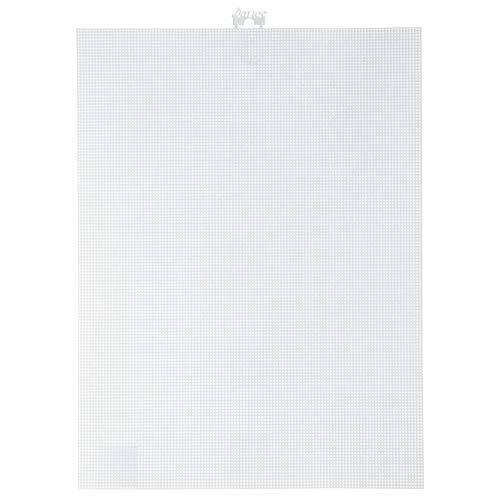 Darice Bulk Buy DIY #14 Mesh Plastic Canvas White 11 x 8-1/2 (12-Pack) 33275-2