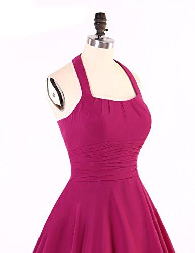 Bridal_Mall - Vestido - para mujer fushcia
