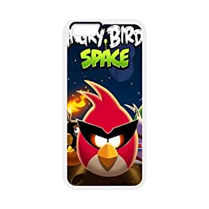 iPhone 6 Plus 5.5 Inch Cell Phone Case White Angry Birds Phone Case Covers Fashion Unique CZOIEQWMXN11612