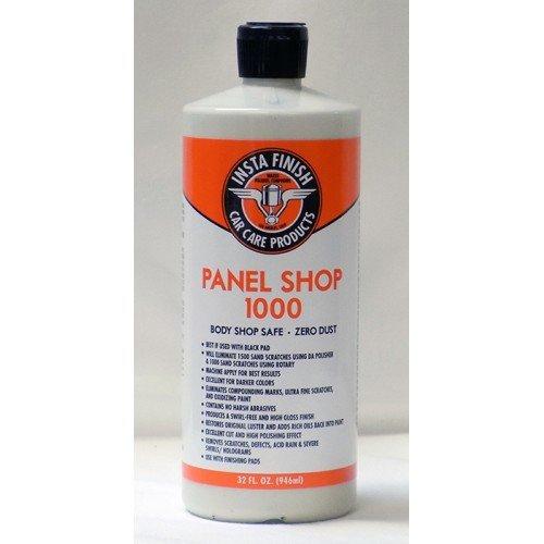 Insta Finish Panel Shop 1000 body shop safe auto polish zero dust 32oz