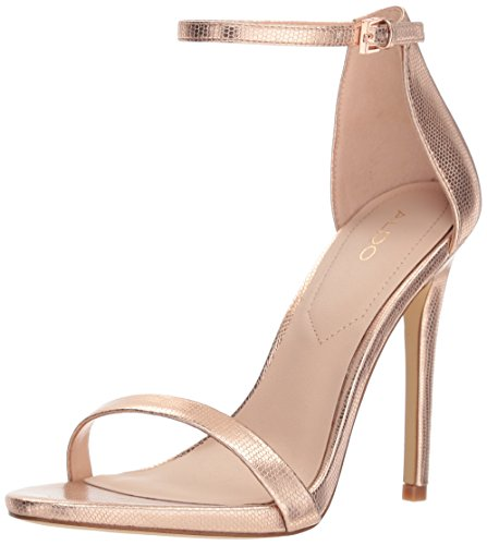 Caraa Sandal Metallic Leather Women's Aldo Miscellaneous Dress UxR77B