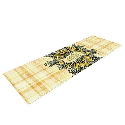 Amazon.com : Kess InHouse Nick Atkinson Sunflower Sunshine ...