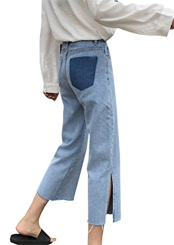 bleu Jeans clothing COCO bleu Femme Relaxed 68zYOwqT