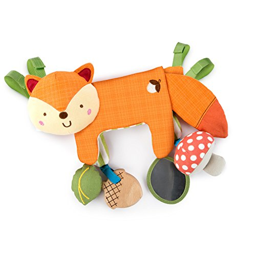 Cheap Bright Starts Simply Bright Starts 2-in-1 Foxy Forest Toy Bar