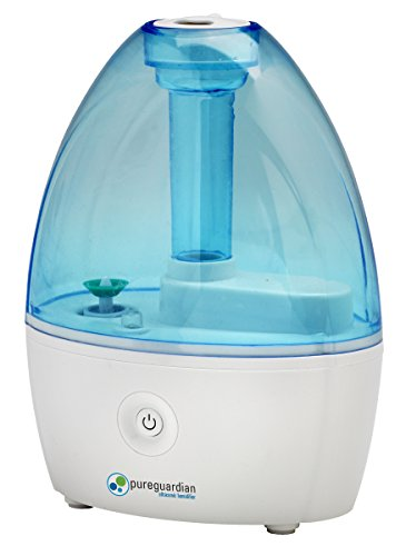 Pureguardian 3 5l output per day ultrasonic cool mist for Small room humidifier